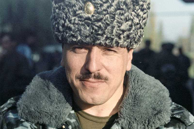 Чеченский полевой командир Ваха Хамидович Арсанов