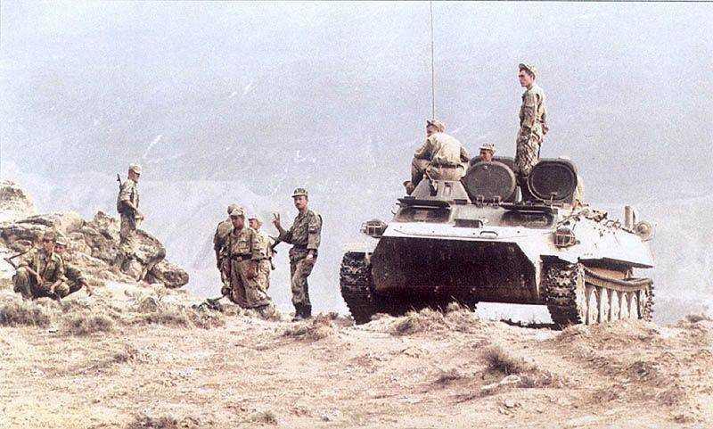 Август 1999 г. Дагестан. Бои в Новолакском районе