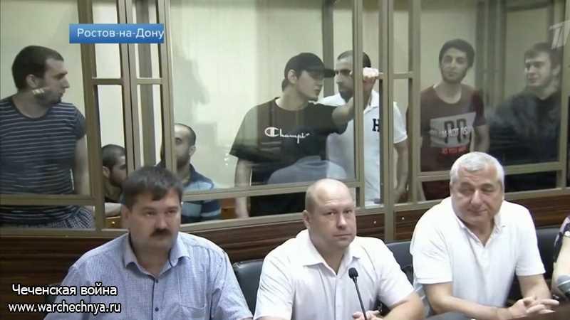 Семеро боевиков осуждены за убийство полицейских в Астрахани