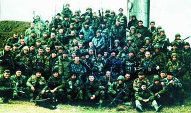 Вторая чеченская война. Черный март 19 отряда спецназа «Ермак»