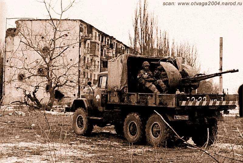 Вооружённые автомобили на чеченской войне