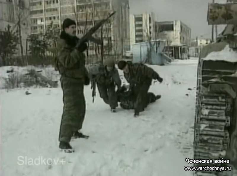 Вторая чеченская война. Перестрелка в Грозном
