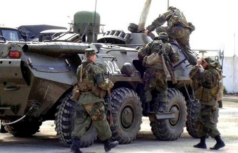 Юлия Калинина. 46 Бригада ВВ. Военное присутствие обозначается кровью