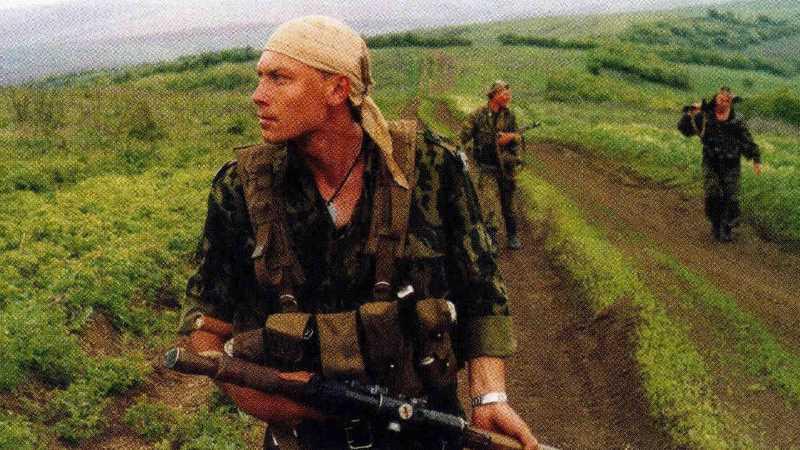 """Вторая чеченская война. """"Медведи"""" уходят в поиск"""