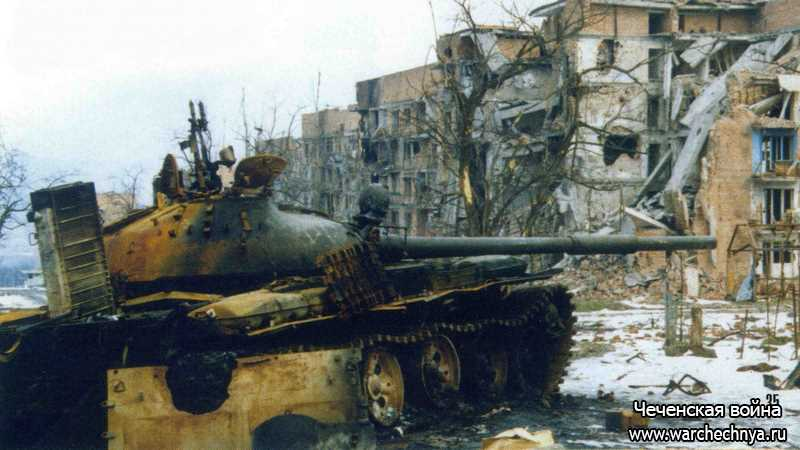 Первая чеченская война. Случай во время штурма Грозного