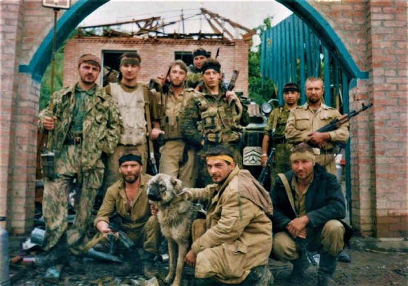 166 Мотострелковая бригада. Штурм Грозного 1996 г.