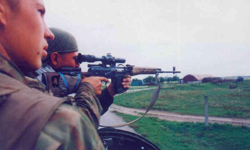 Вторая чеченская война. 102 ОБрОН. Бои в Дагестане