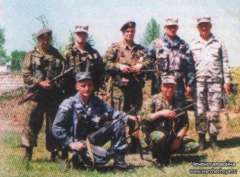 Вторая чеченская война. Пензенский ОМОН в боях за Комсомольское