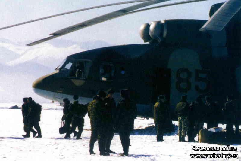 Вертолетчики на второй чеченской войне. Воздушные рабочие войны