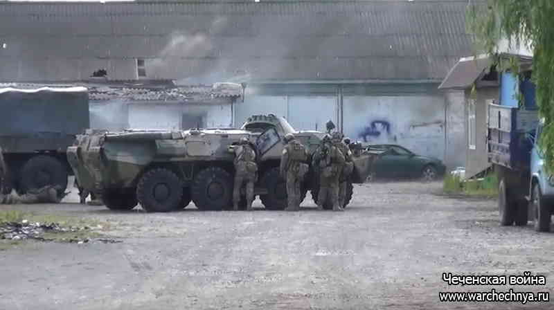 Оперативное видео уничтожения боевиков от 30.05.2020 в городе Сунжа