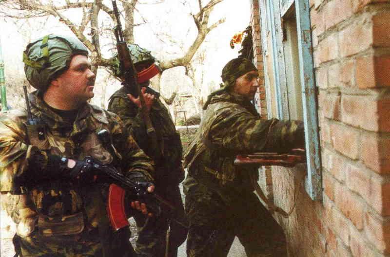 Вторая чеченская война. Работа Ленинского ВОВД Грозного