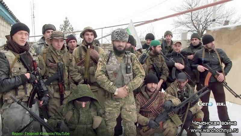 Кадыровцы против Ичкерийцев. Война на Украине