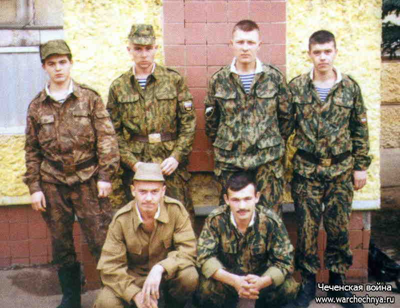 Первая чеченская война. Побег из плена