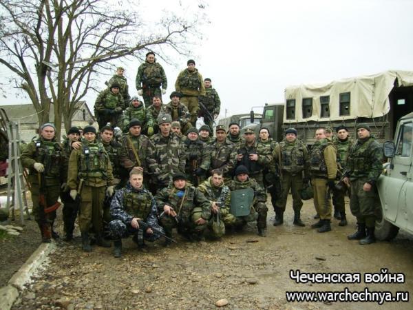 Первая чеченская война в фотографиях