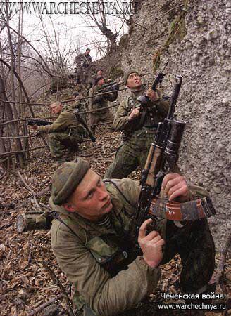 чечня войны фото
