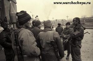 Грозный. Фото первой чеченской войны. Дворец Дудаева